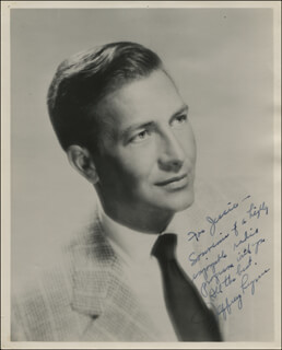 JEFFREY LYNN - AUTOGRAPHED INSCRIBED PHOTOGRAPH