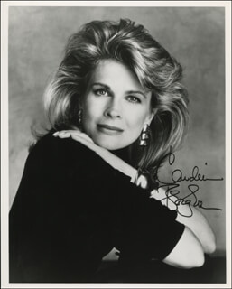 CANDICE BERGEN - AUTOGRAPHED SIGNED PHOTOGRAPH  - HFSID 321096