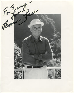 NORMAN LEAR - AUTOGRAPHED INSCRIBED PHOTOGRAPH
