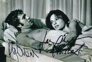 THE THIEF WHO CAME TO DINNER MOVIE CAST - AUTOGRAPHED SIGNED PHOTOGRAPH CO-SIGNED BY: RYAN O'NEAL, JACQUELINE BISSET