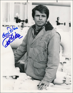 WILLIAM DEVANE - AUTOGRAPHED SIGNED PHOTOGRAPH