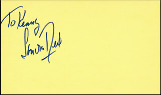 SANDRA DEEL - INSCRIBED SIGNATURE
