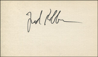 FRED ROBBINS - AUTOGRAPH