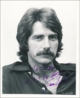 SAM ELLIOTT - AUTOGRAPHED INSCRIBED PHOTOGRAPH