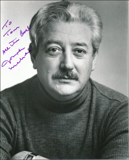 JOSEPH MAHER - AUTOGRAPHED INSCRIBED PHOTOGRAPH