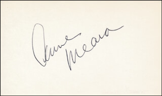 ANNE MEARA - AUTOGRAPH