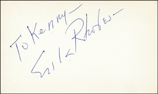 ERIK RHODES - INSCRIBED SIGNATURE