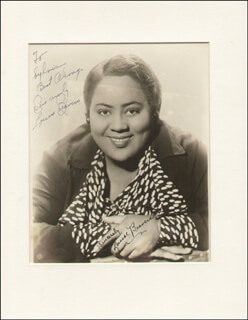 LOUISE BEAVERS - AUTOGRAPHED INSCRIBED PHOTOGRAPH