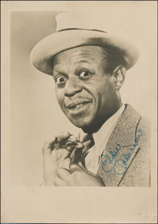 Autographs: EDDIE ROCHESTER ANDERSON - PHOTOGRAPH SIGNED