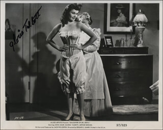 GLORIA TALBOTT - AUTOGRAPHED SIGNED PHOTOGRAPH