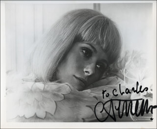 CATHERINE DENEUVE - AUTOGRAPHED INSCRIBED PHOTOGRAPH