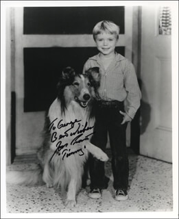 JON PROVOST - AUTOGRAPHED INSCRIBED PHOTOGRAPH