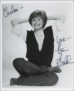 BONNIE FRANKLIN - AUTOGRAPHED INSCRIBED PHOTOGRAPH