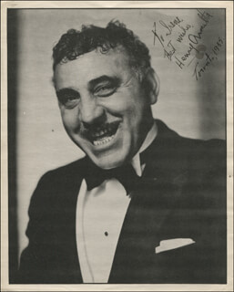 HENRY ARMETTA - AUTOGRAPHED INSCRIBED PHOTOGRAPH 1935