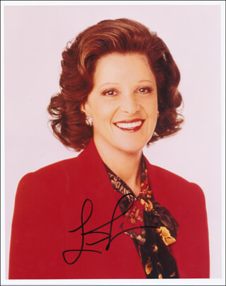 LINDA LAVIN - AUTOGRAPHED SIGNED PHOTOGRAPH
