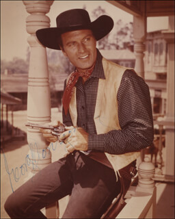 GEORGE MONTGOMERY - AUTOGRAPHED SIGNED PHOTOGRAPH