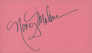 NANCY MALONE - AUTOGRAPH