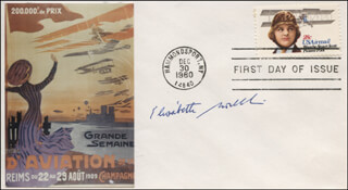 Autographs: ELISABETH BOSELLI - FIRST DAY COVER SIGNED