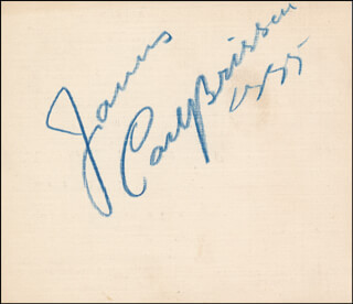 CARL BRISSON - INSCRIBED SIGNATURE 05/1955
