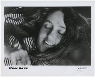 JOAN BAEZ - COLLECTION WITH JOAN BAEZ SR.