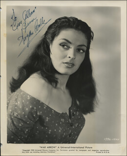 SUZAN BALL - AUTOGRAPHED INSCRIBED PHOTOGRAPH