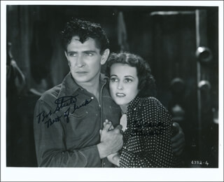 THE GUN RANGER MOVIE CAST - AUTOGRAPHED SIGNED PHOTOGRAPH CO-SIGNED BY: BOB STEELE, ELEANOR STEWART