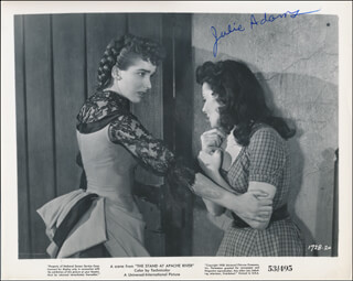 Autographs: JULIE ADAMS - PHOTOGRAPH SIGNED