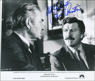 ROBERT PRESTON - AUTOGRAPHED SIGNED PHOTOGRAPH