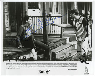BIRDY MOVIE CAST - AUTOGRAPHED SIGNED PHOTOGRAPH CO-SIGNED BY: NICOLAS CAGE, MATTHEW MODINE