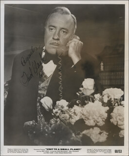 FRED CLARK - AUTOGRAPHED SIGNED PHOTOGRAPH 1964