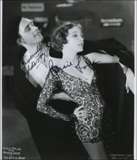 THE SWELL HEAD MOVIE CAST - AUTOGRAPHED SIGNED PHOTOGRAPH CO-SIGNED BY: BESSIE LOVE, EDDIE FOY JR.