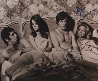 BOB & CAROL & TED & ALICE MOVIE CAST - AUTOGRAPHED SIGNED PHOTOGRAPH CO-SIGNED BY: ROBERT CULP, ELLIOTT GOULD, DYAN CANNON