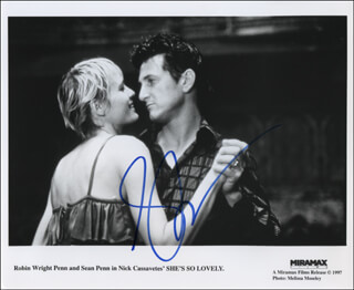 SEAN PENN - AUTOGRAPHED SIGNED PHOTOGRAPH