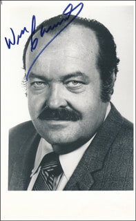 WILLIAM CONRAD - AUTOGRAPHED SIGNED PHOTOGRAPH