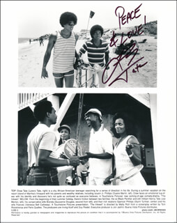 LARENZ TATE - AUTOGRAPHED SIGNED PHOTOGRAPH