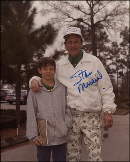 STAN MUSIAL PERSONAL CANDID GOLF PHOTOGRAPH COLLECTION WITH LETTER OF PROVENANCE FROM MUSIAL FAMILY