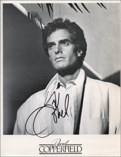 DAVID COPPERFIELD - AUTOGRAPHED SIGNED PHOTOGRAPH