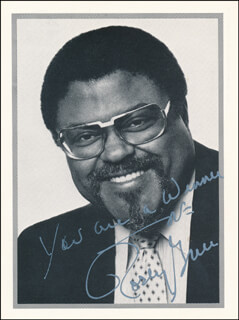 ROSEY (ROOSEVELT) GRIER - AUTOGRAPHED SIGNED PHOTOGRAPH
