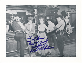 DALE ROBERTSON - AUTOGRAPHED INSCRIBED PHOTOGRAPH