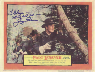 GREGG (PALMER EDVIND LEE) PALMER - INSCRIBED LOBBY CARD SIGNED