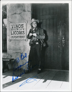 DON RED BARRY - AUTOGRAPHED INSCRIBED PHOTOGRAPH
