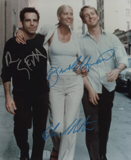 KEEPING THE FAITH MOVIE CAST - AUTOGRAPHED SIGNED PHOTOGRAPH CO-SIGNED BY: JENNA ELFMAN, EDWARD NORTON, BEN STILLER