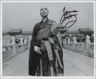 JAMES HONG - AUTOGRAPHED SIGNED PHOTOGRAPH