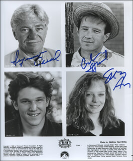 PLAIN CLOTHES MOVIE CAST - AUTOGRAPHED SIGNED PHOTOGRAPH CO-SIGNED BY: SEYMOUR CASSEL, SUZY AMIS, ARLISS HOWARD