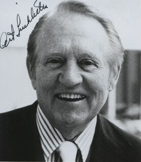 ART LINKLETTER - AUTOGRAPHED SIGNED PHOTOGRAPH