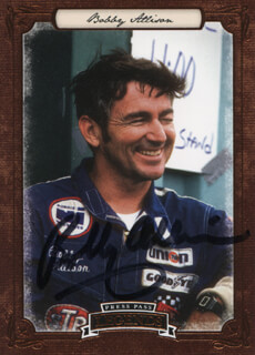 Autographs: BOBBY ALLISON - TRADING/SPORTS CARD SIGNED