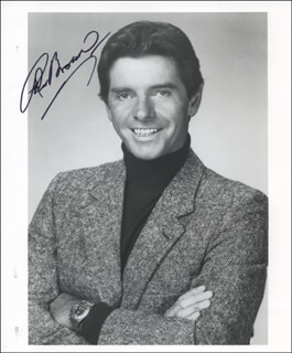 PETER BROWN - AUTOGRAPHED SIGNED PHOTOGRAPH