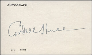 Autographs: CORDELL HULL - SIGNATURE(S) CIRCA 1937
