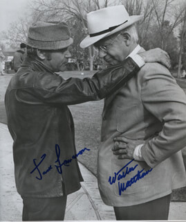 KOTCH MOVIE CAST - AUTOGRAPHED SIGNED PHOTOGRAPH CO-SIGNED BY: JACK LEMMON, WALTER MATTHAU