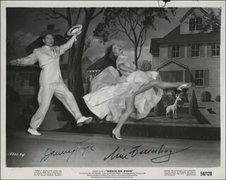 KNOCK ON WOOD MOVIE CAST - AUTOGRAPHED SIGNED PHOTOGRAPH CO-SIGNED BY: MAI ELISABETH ZETTERLING, DANNY KAYE